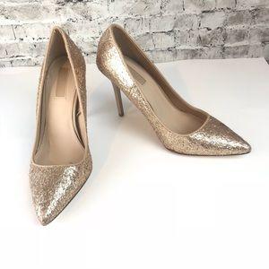 Forever 21 Gold heels